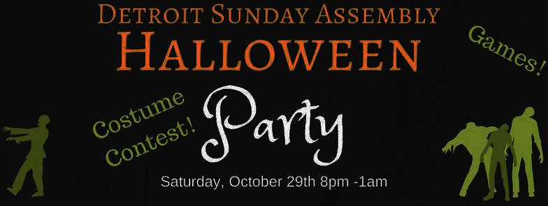 Sunday Assembly Detroit Halloween Party