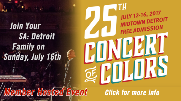 Concert of Colors in Midtown Detroit